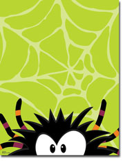 Paper So Pretty - Blank Designer Papers (Creepy Crawly Spider) (DP1100)